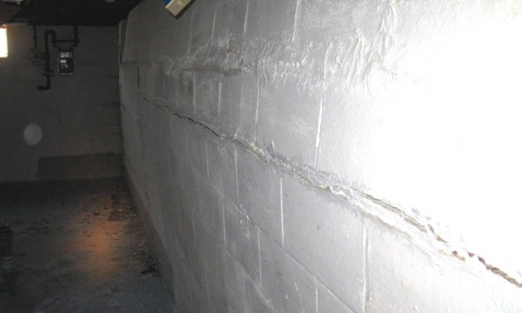 bowing basement walls