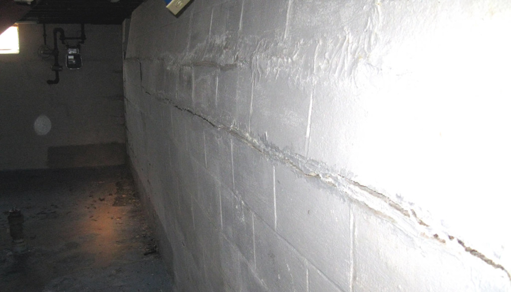 bowing basement walls