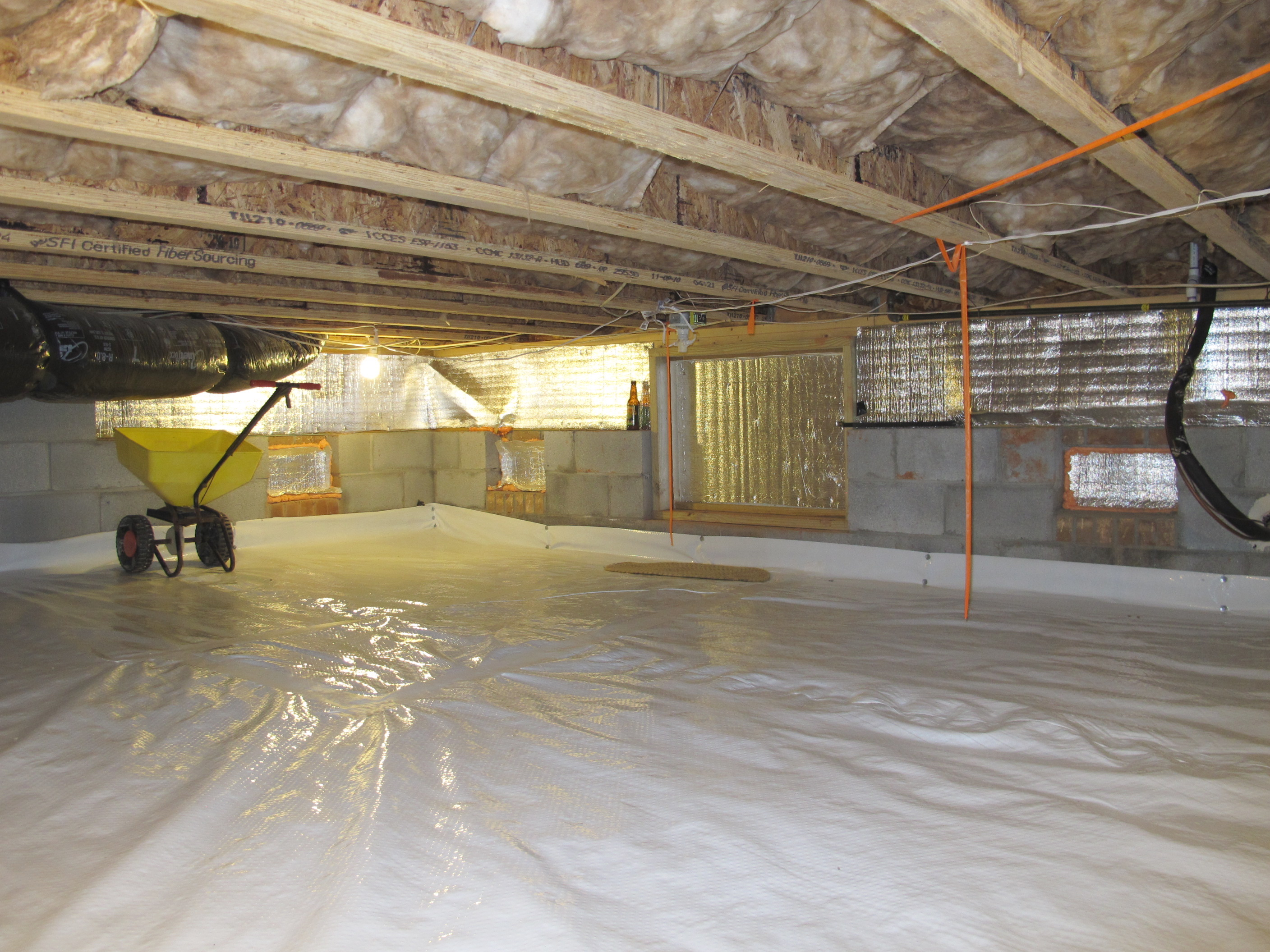 Common Questions About Crawlspace Waterproofing Answered