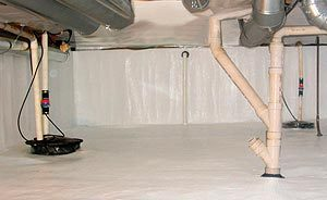 Hilliard, OH | Crawl Space Waterproofing | Drying Out a Crawl Space | Everdry Columbus