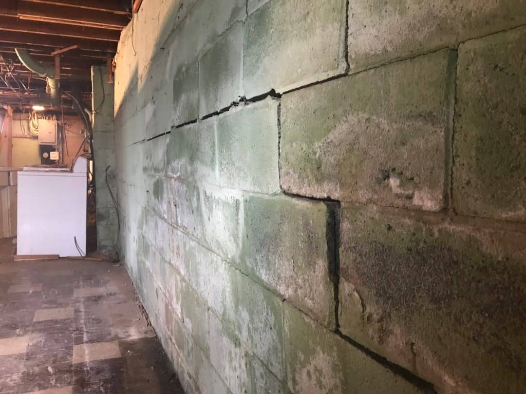 Bowing Basement Walls | Lancaster, OH | Everdry Waterproofing Of Columbus.3